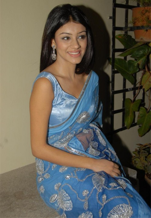 Anchal Looking sexy in Saree
