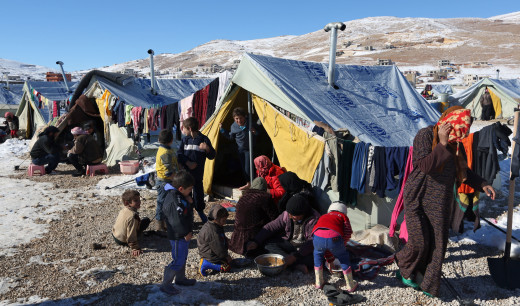 Unbearable living conditions faced in refugee camps