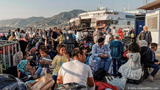 Syrians fleeing their country, in search of a better life in Turkey