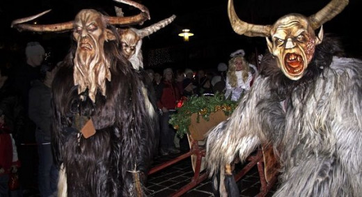 Photo Taken From a Recent Krampus Run