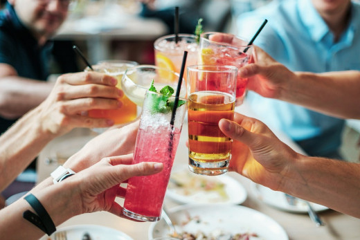 Why people drink in social situations