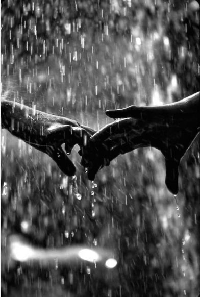 Holding Hands in Rain is Nothing but Love!