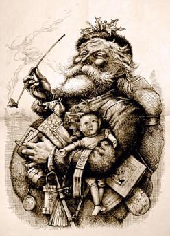 Santa claus and his history