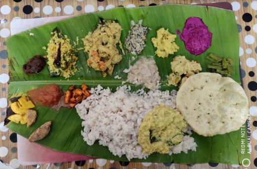 Homemade Kerala Sadhya