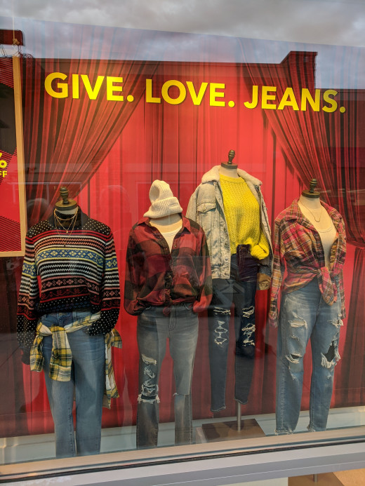 Today Jeans are easily and legally available for sale in stores