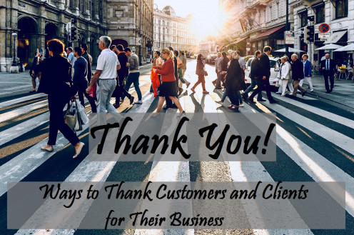 Thank-You Notes and Appreciation Messages for Customers and Clients