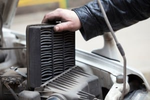 Changing car air filter should be replaced between 15,000 and 30,000 miles, depending on driving conditions. Or if you are using it often on unpaved roads, then it needs to be changed more often.