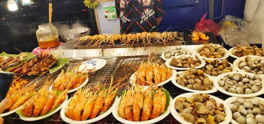 Street food, seafood