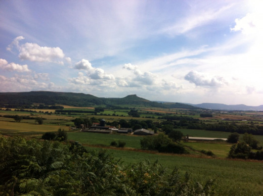 """Seen from Upsall Moor above Eston - see also the article """"Walk The Moor..."""""""