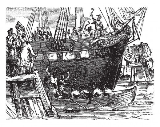 Boston Tea Party: one of the most notable events in the US history was actually a trade war.