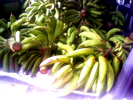 South Indian banana var. Nendran
