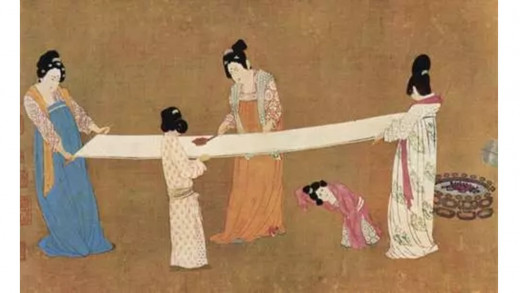 """Ban Zhao (41 - c. 115 CE) one of the most famous female writers, wrote in """"Instructions for Women"""" about the four virtues: speech, virtue, behavior, and work"""