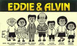 Eddie and Alvin - cartoon strips