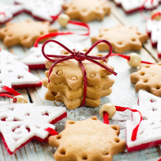 Christmas cookies are a very common tradition in many households.