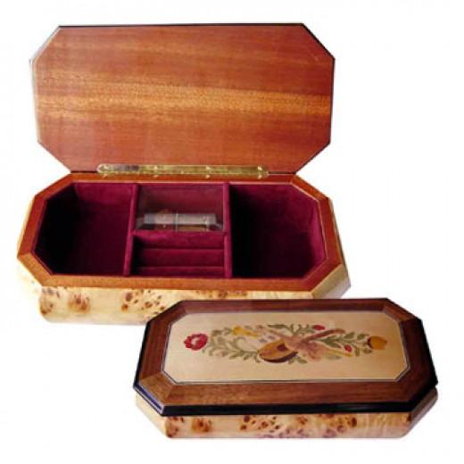 Musical Large Hardwood Boxes