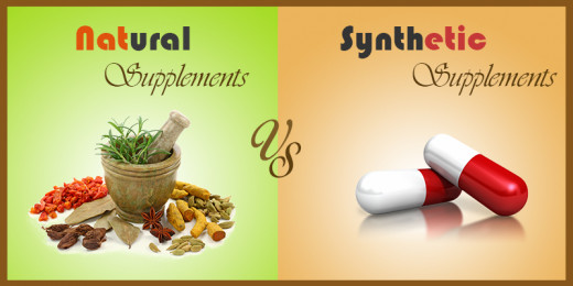 Organic vs Synthetic Supplements