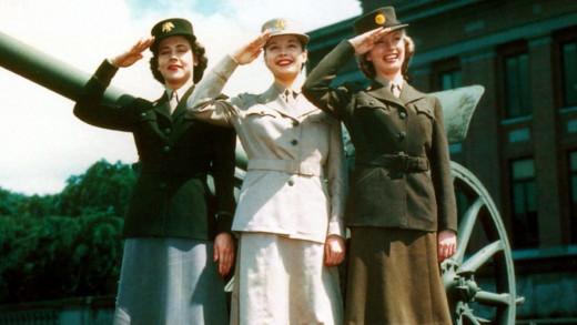 Female Attendants at warfront