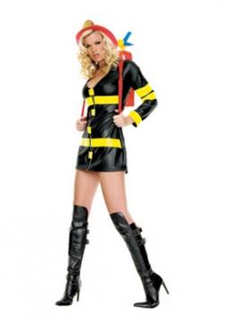 Sexy Fire Woman