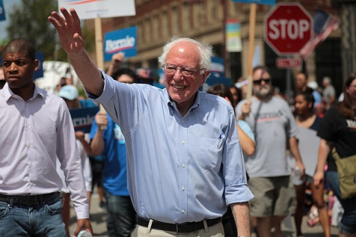 Bernie Sanders, Candidate for Democratic Nomination for US President