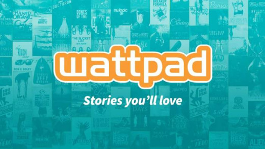 What one is greeted with upon arriving to Wattpad