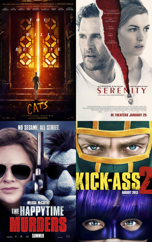 10 Worst Films of the '10s