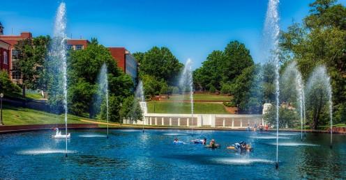 Clemsopn University Pond