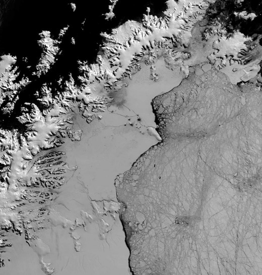 Larsen B Ice Shelf 2013
