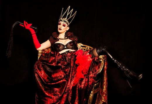 The sultry babes of burlesque revue Valtesse will bring out their demons at the Lovers Fetish Fantasy Halloween Party