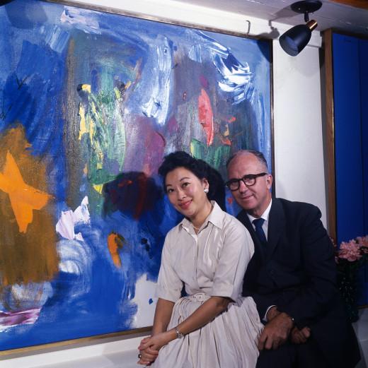 James and Mari Michener