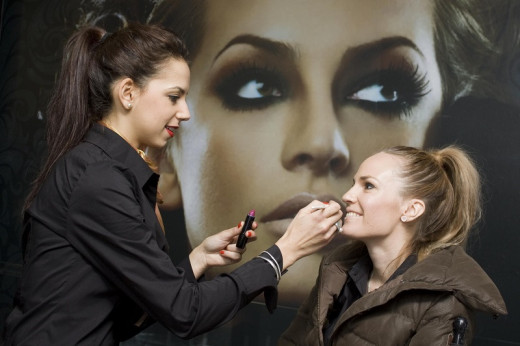 Your skill may be to do make-overs for special occasions. Or you could offer lessons on how to apply make-up.