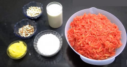 Carrot Halwa Dessert