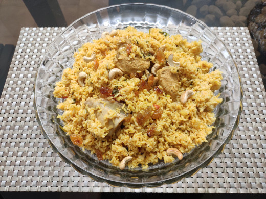 Ready to eat Chicken Biriyani