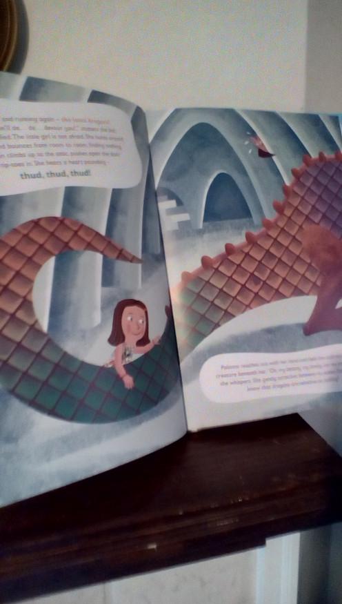 Paloma loves dragons!