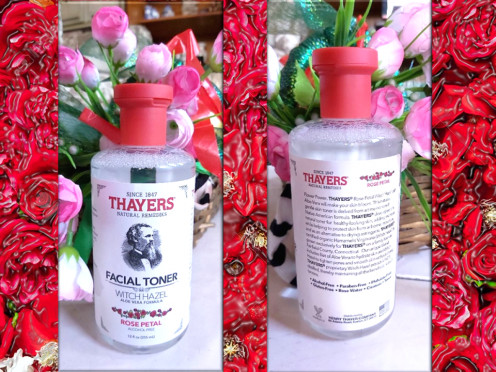 A Bottle of Thayers Witch Alcohol-Free Witch Hazel Toner - Rose Petal