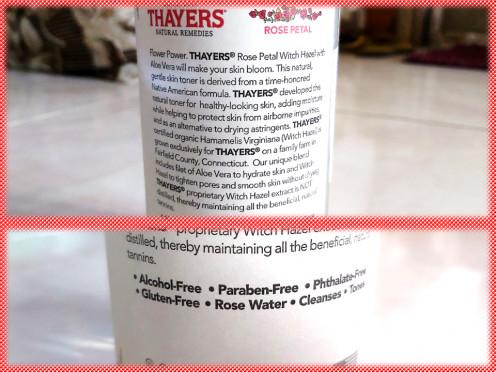 Pros of Using Thayers Witch Hazel Toner - Rose Petal
