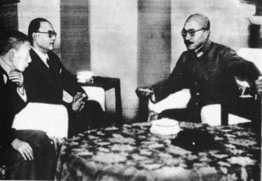 Bose with General Tojo 1943