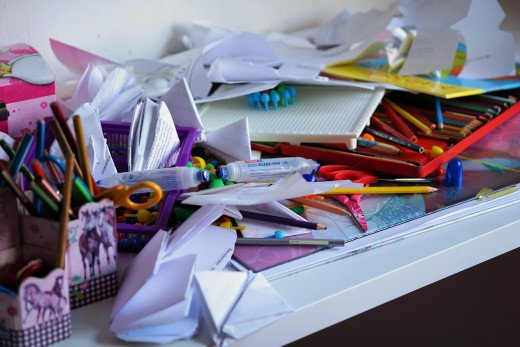An organizer can help show you how to stay organized. You need to be willing to maintain the order you create together.