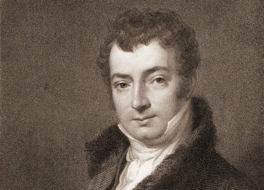 Washington Irving, one of America's earlier authors who may have inspired Curwood Castle