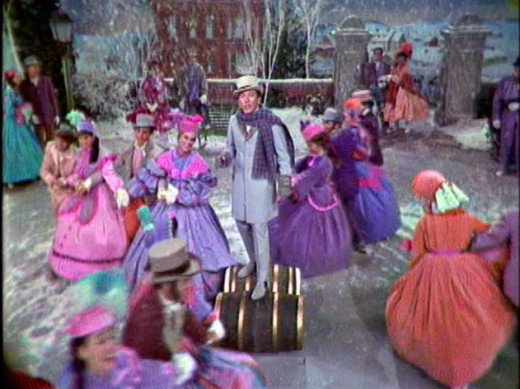 An Andy Williams Christmas TV program--more familiar holiday musical fare