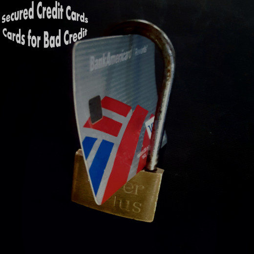 Credit Cards For Bad Credit >> Secured Credit Cards Cards For Bad Credit Hubpages