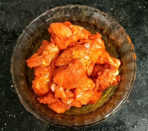 Marinated Chicken Pieces