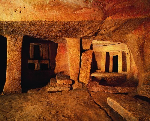 Inside the Hypogeum