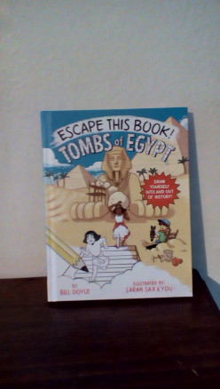 Egyptian History for Young Readers in Creative Activity Book From Popular Author Bill Doyle
