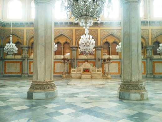 Durbar Hall of the palace