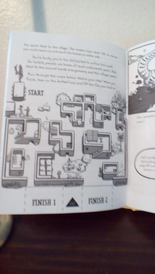Follow the maze as a possible escape outlet