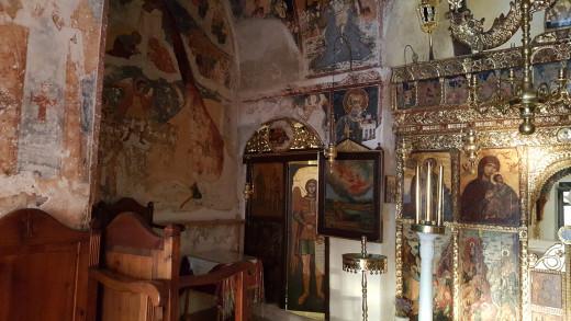 Inside Agios Antonios