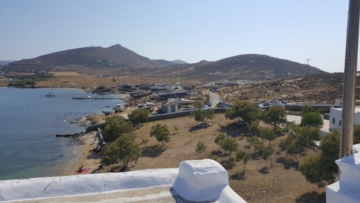 View from Agios Yanni