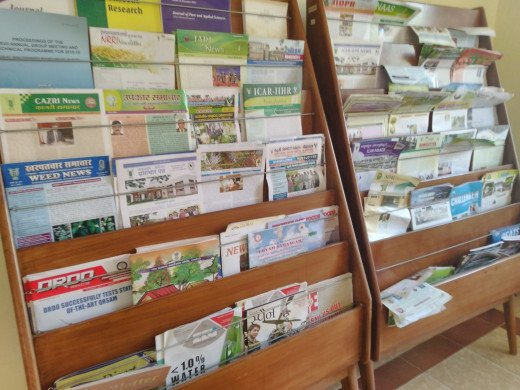 Periodical magazines on agriculture