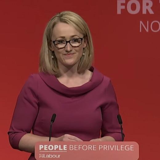 Corbyns chosen successor, Rebecca Long-Bailey.
