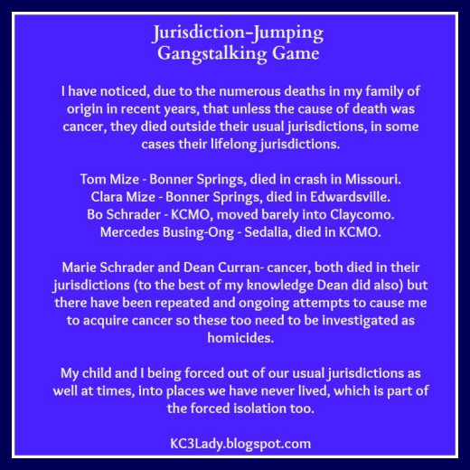 Jurisdiction Jumping, One Aspect